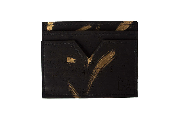 Gold Swipe 5 Pocket Card Wallet