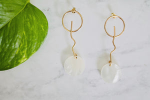 En Blanc Earrings