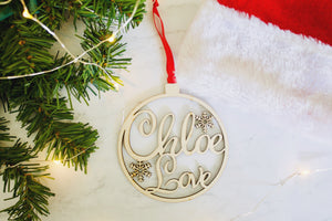 Name Ornament