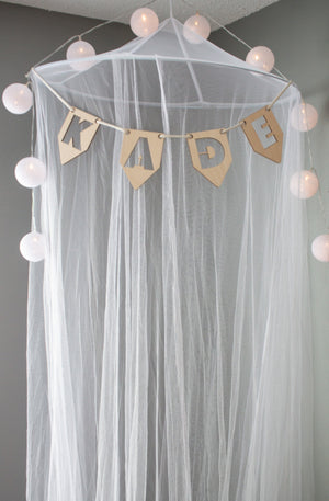 Triangle Name Garland