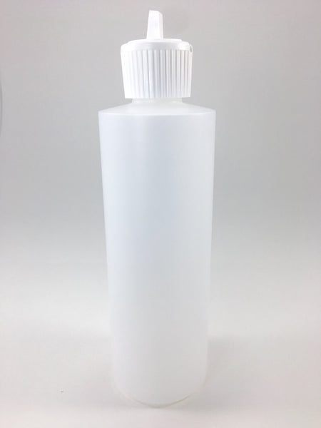 Our translucent plastic bottles are ideal for easy dispensing of massage lotions, oils and gels.  They come with a flip top lid.  They are BPA free and can hold 8oz's.