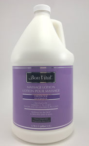Bon Vital Swedish Lotion The Bon Vital Swedish Lotion acts greatly different than any other products in it's category. This multi vitamin (A, B5, C & E) fortified lotion shows the characteristics of an emolient creme allowing for effortless workability with a smooth glide and texture. Enriched with Jojoba Oil.  Swedish Lotion is designed to last longer than most lotions.  Paraben Free Water Dispersible
