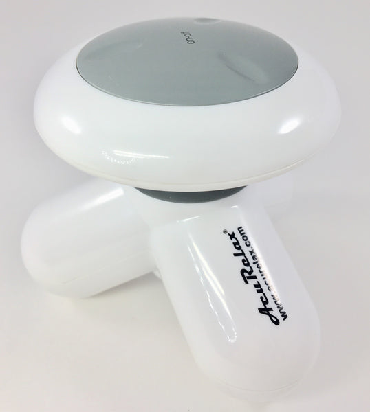AcuRelax Mini Massager Relaxation is an important component of wellness and studies support that massage therapy reduces blood pressure, pain and helps people to sleep. Try one of our revolutionary, oscillating motion massagers today! Targeted to specific areas of the body, they help massage the spots that can't be reached by other massagers.  Great for home care and client care.