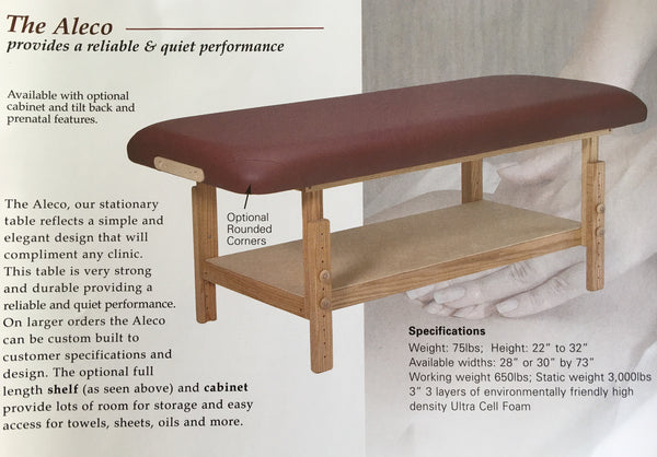 The Aleco Stationary Table