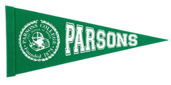 Parsons College Pennant