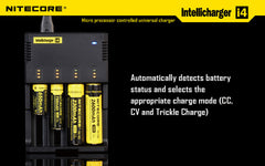 Nitecore Intellicharge i4