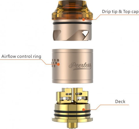 PEERLESS 24MM RDA BY GEEK VAPE
