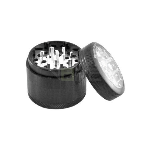 "SharpStone 2.2"" Clear Top 4 Piece Herb Grinder"
