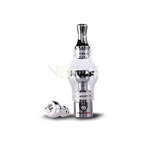 Wulf Mods Dual Coil Titanium Glass Dome Atomizer