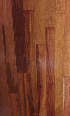 "Engineered Brazilian Cherry (Jatoba) Prefinished  1/2"" X 5 1/4"" - CALL FOR SPECIAL PRICING"