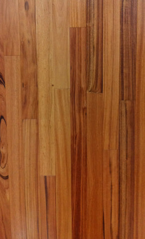 "Engineered Brazilian KOA (TIGERWOOD) Prefinished - 1/2"" X 5 1/4"" - CALL FOR PRICING"