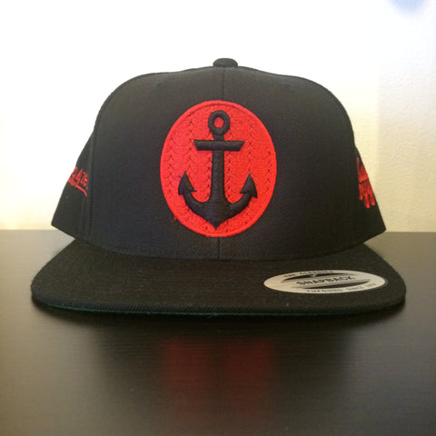 "RudeBoyy & Area4zero1 ""Anchor""Snapback"