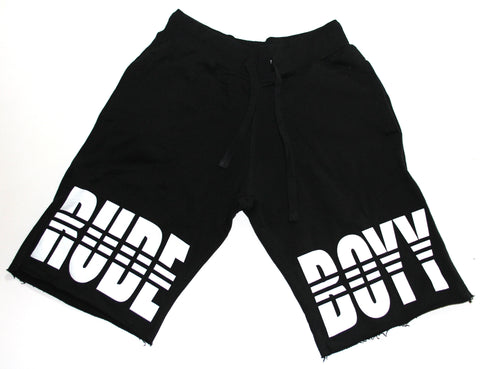 RudeBoyy Fleece Shorts (RUDE BOYY)