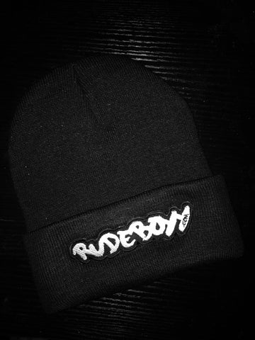 RudeBoyy Logo Patch Beanie
