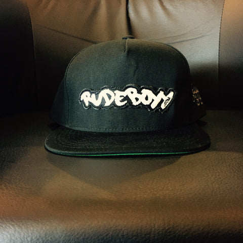 RudeBoyy Logo Patch Snapback