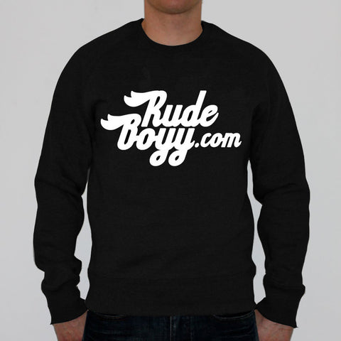 RudeBoyy Script Design Crew Neck
