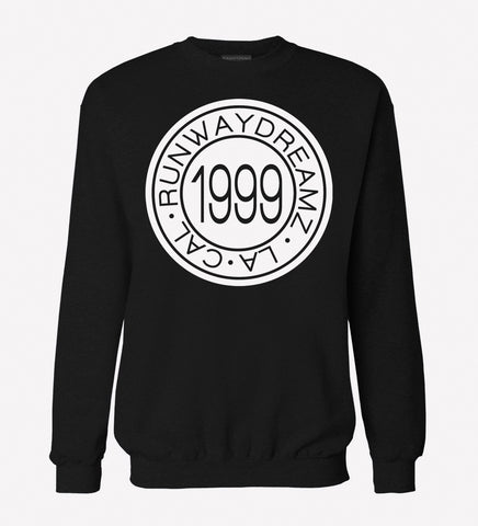 RWDZ 1999 Medallion Black Sweatshirt