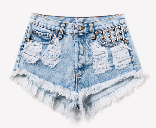 450 Acid Studded Dreamer Shorts