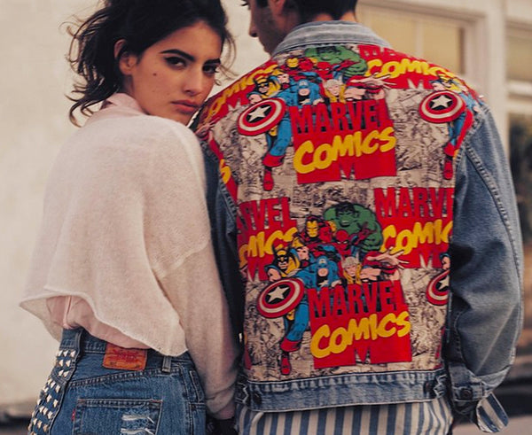 RWDZ x Marvel Legends x Vintage Levis Jacket