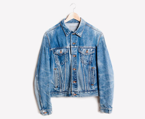 Aged Hand Distressed Vintage Jacket