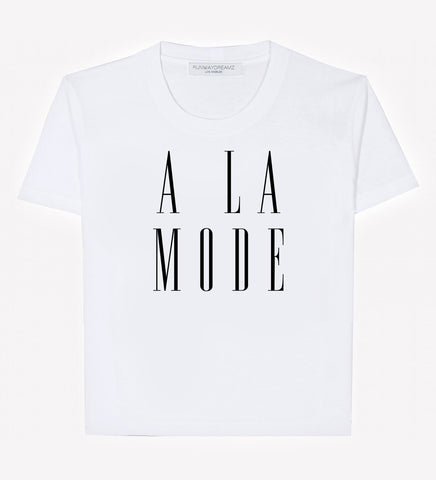 RWDZ x Outfit of Love - A La Mode Tee