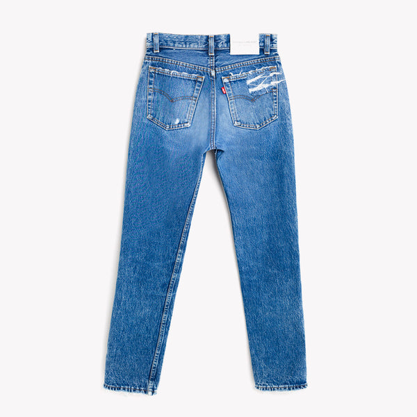 Straight Skinny High Vintage Levis Jeans