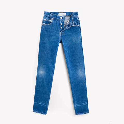Straight Skinny High Rise Levis Jeans