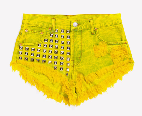 Bel Air Summer Studded Babe Shorts