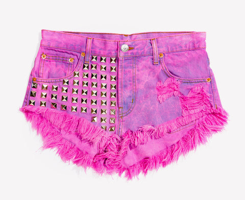 Bel Air Kiss Studded Babe Shorts