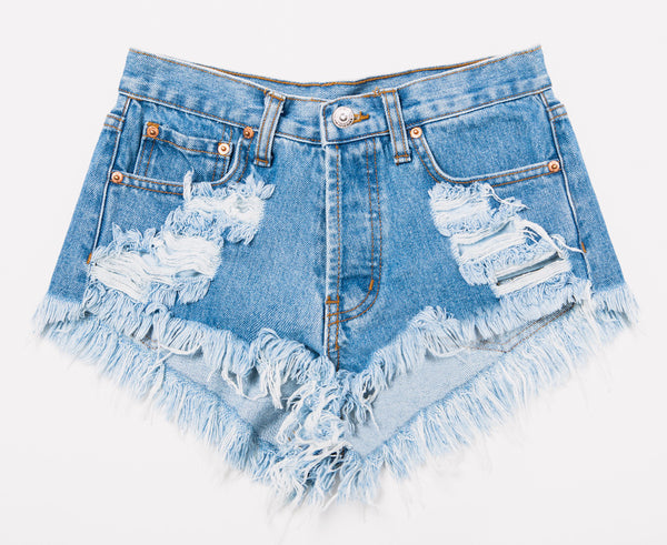 Keepers Vintage High Waisted Jeans Shorts