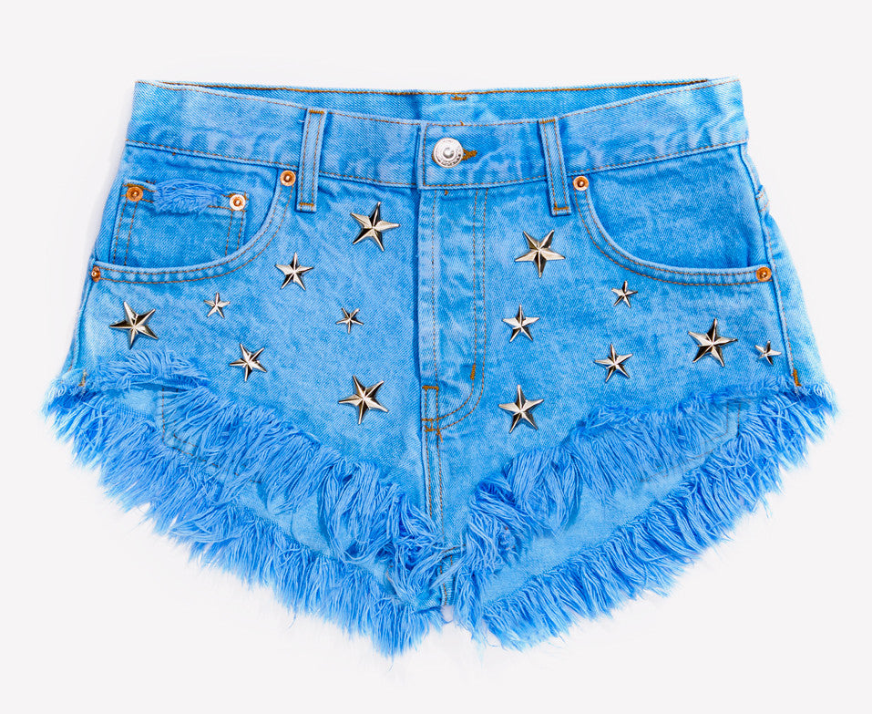 Starr Studded Babe Shorts - Limited