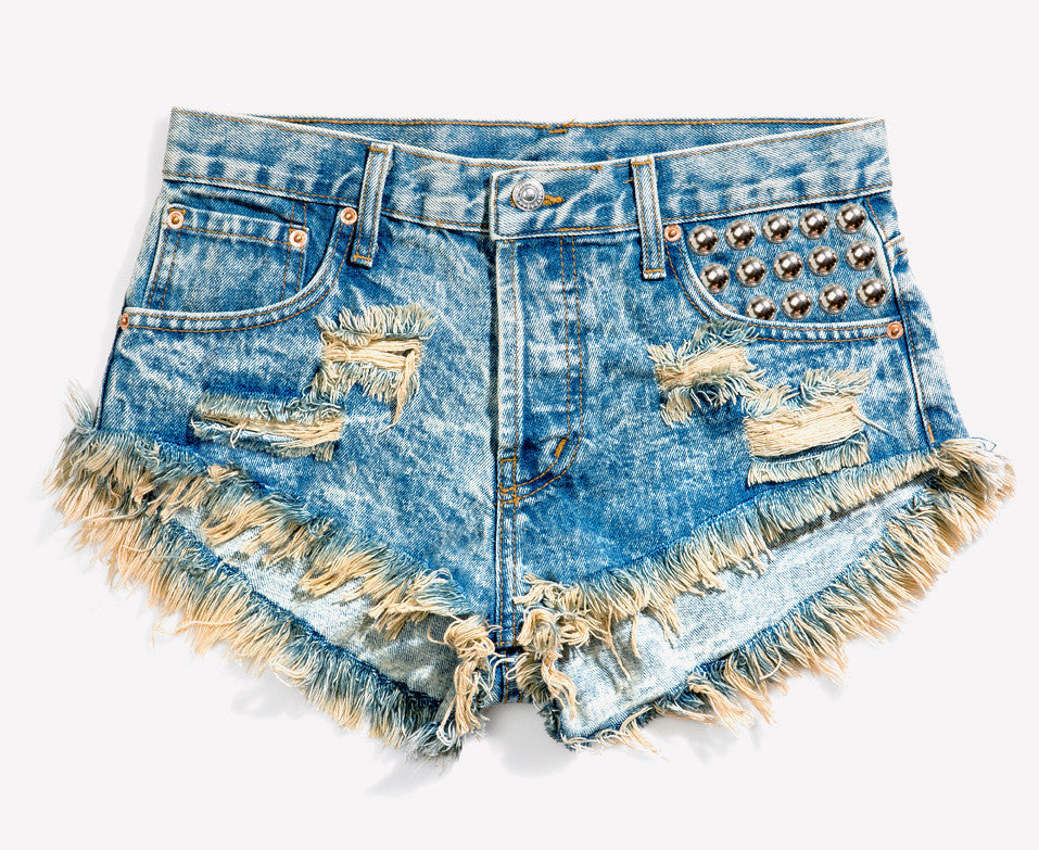 450 Wild West Studded Babe Shorts
