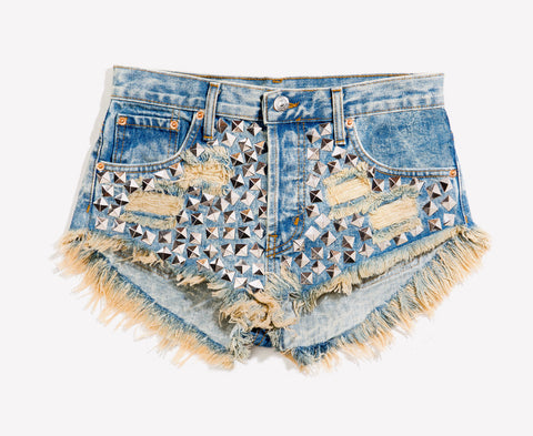 Wunderlust Wild West Studded Babe Shorts
