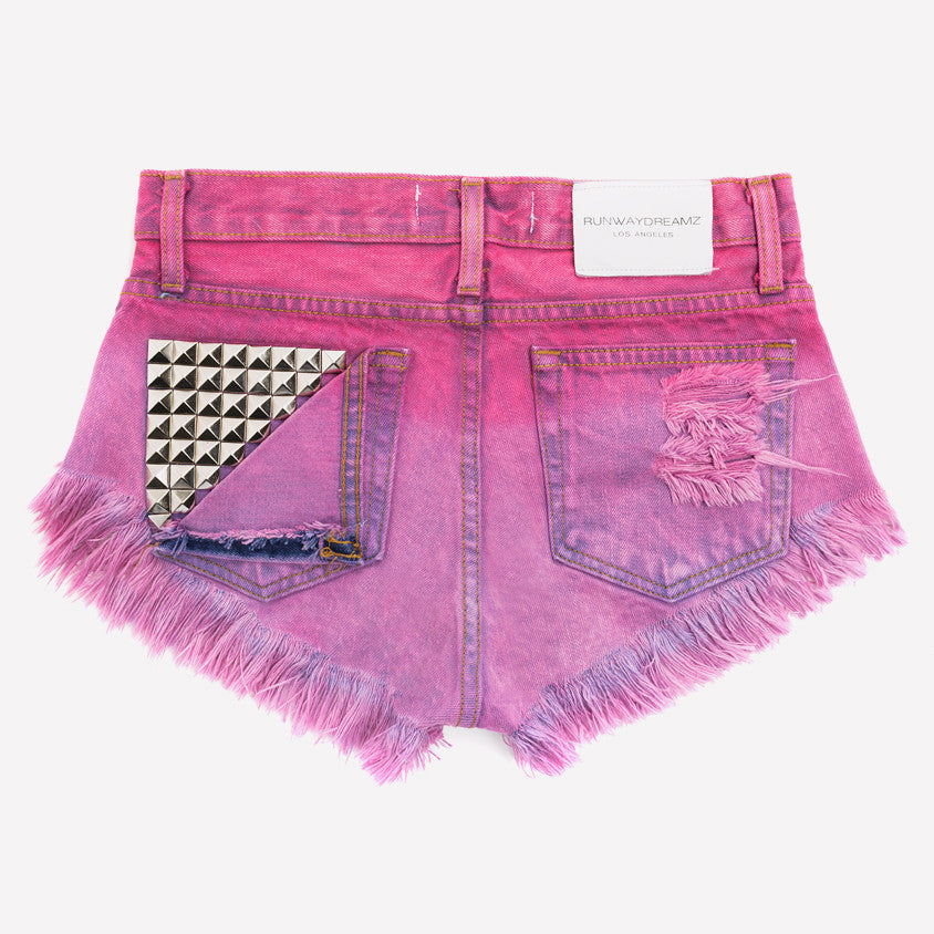 Jett Amour Ombre Studded Babe Shorts