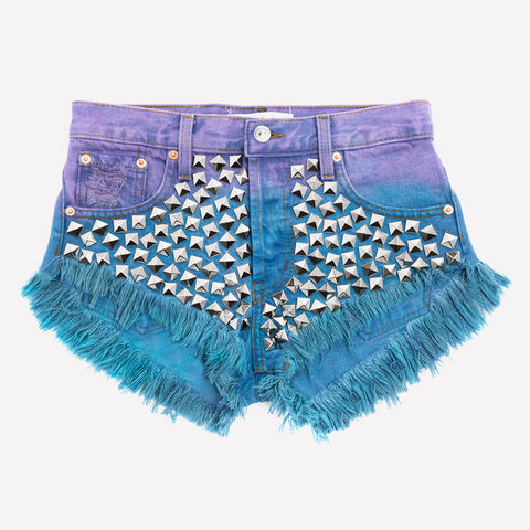 Wunderlust Gypsy Ombre Studded Babe Shorts