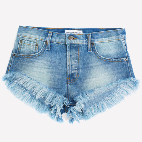 Runaway Vintage Faded Babe Shorts
