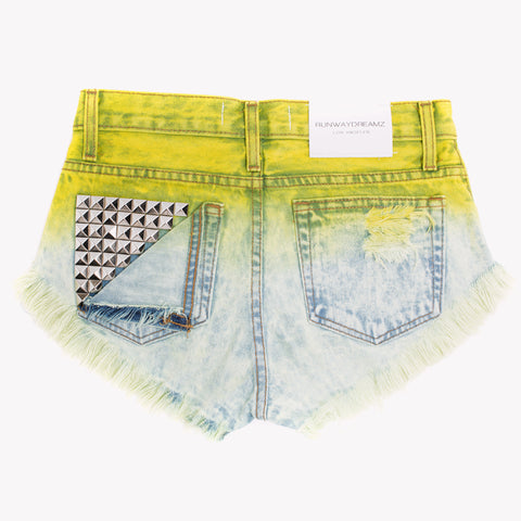 Jett Sunshine Studded Babe Shorts