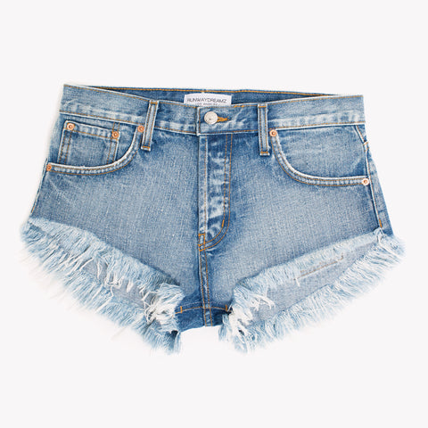 Classic Soft Fade Babe Cut Off Shorts
