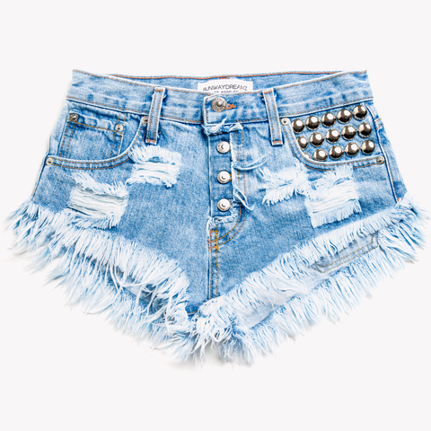 450 Stone Wildest Babe Shorts
