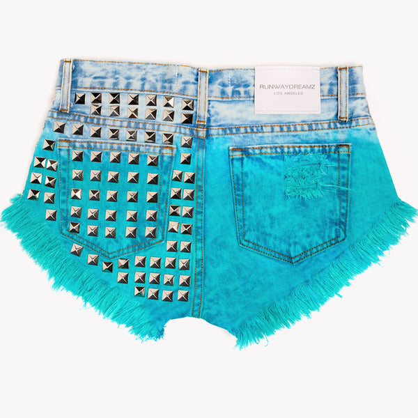 Dangers Paradise Studded Babe Shorts