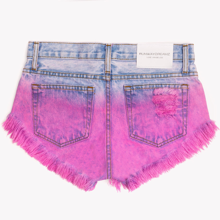 Starry Rose Studded Babe Shorts
