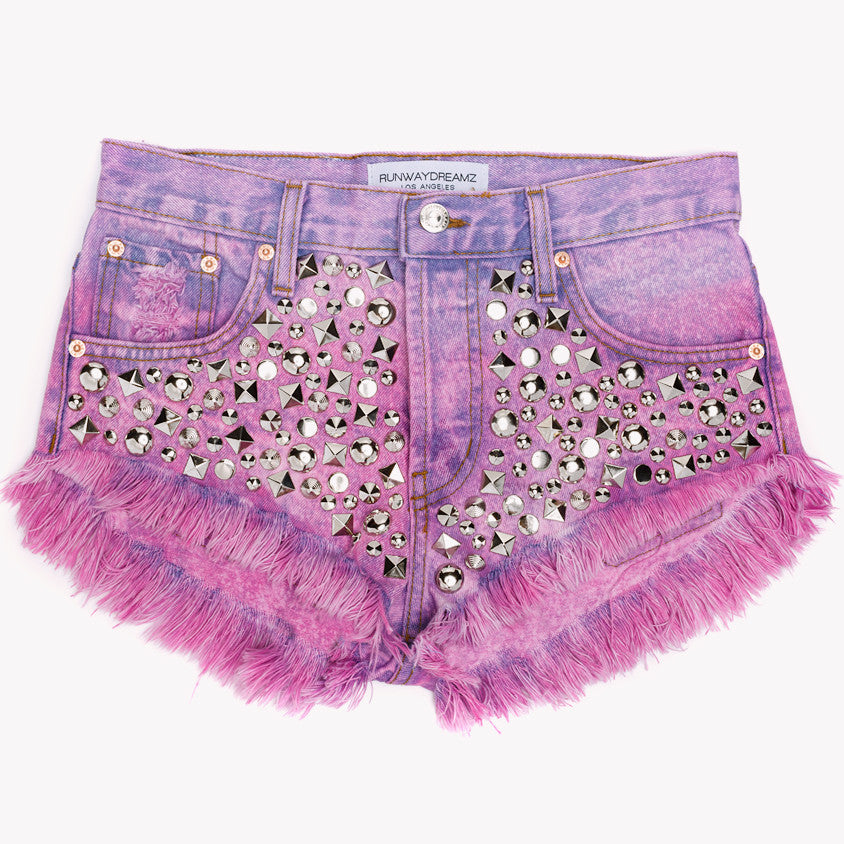 Starstruck Crush Studded Babe Shorts