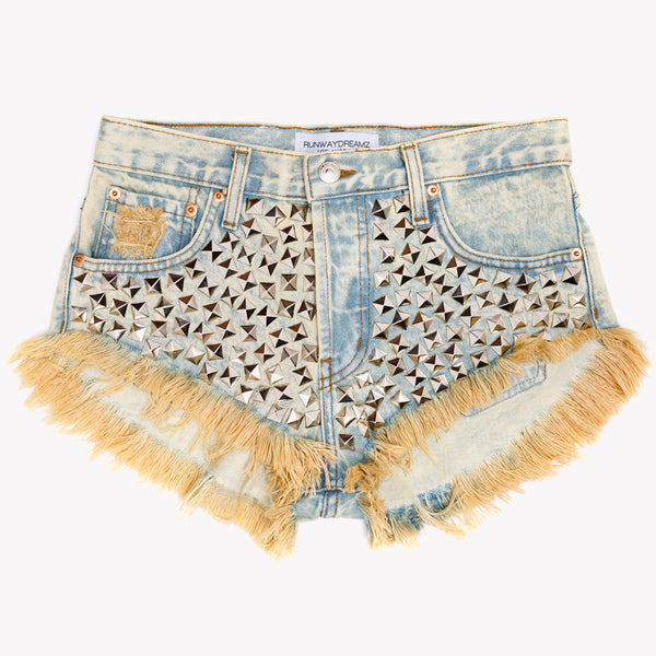 Wunderlust Sands Studded Babe Shorts