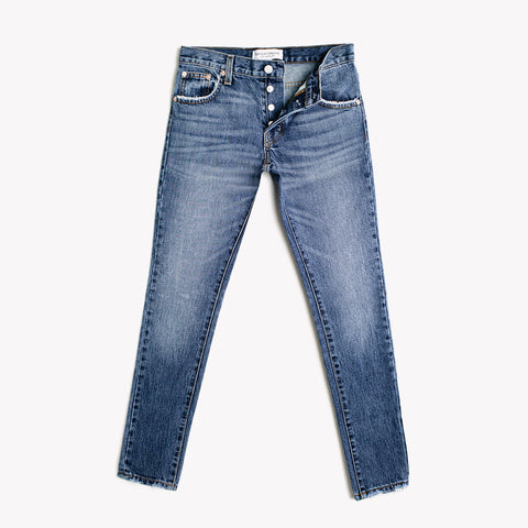 Skinny Vintage Whiskers Babe Jeans