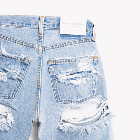 High Rise Butt Rip Vintage Blogger Jeans