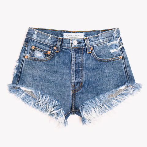 High Rise Rich Cheeky Shorts