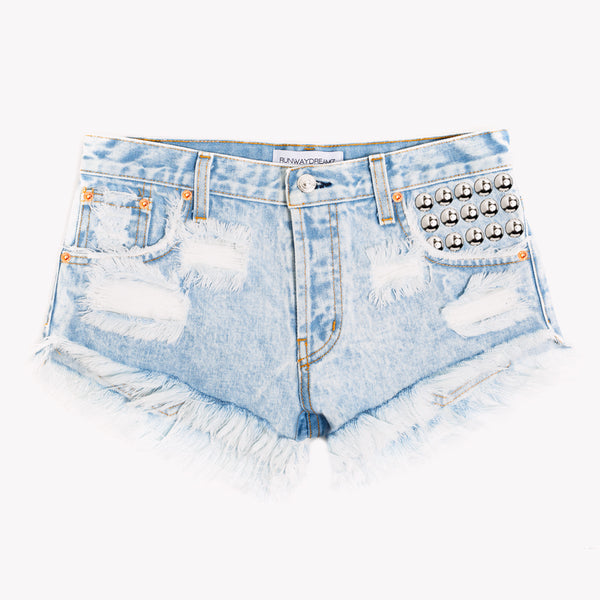 450 Stoner Studded Cut Off Shorts