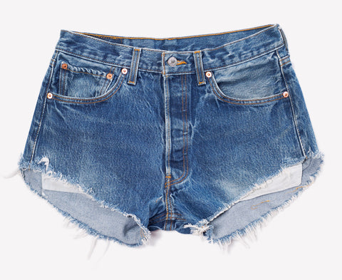 Vintage Levis 501 Cut Off Shorts