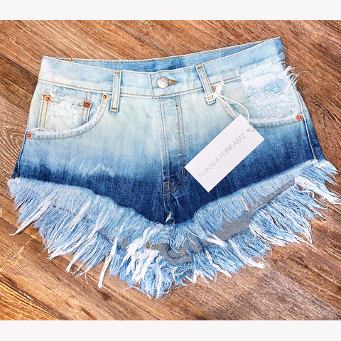 Ocean Baby High Waisted Babe Shorts