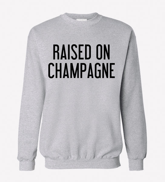 RWDZ x Outfit of Love Raised on Champagne Gray Sweatshirt